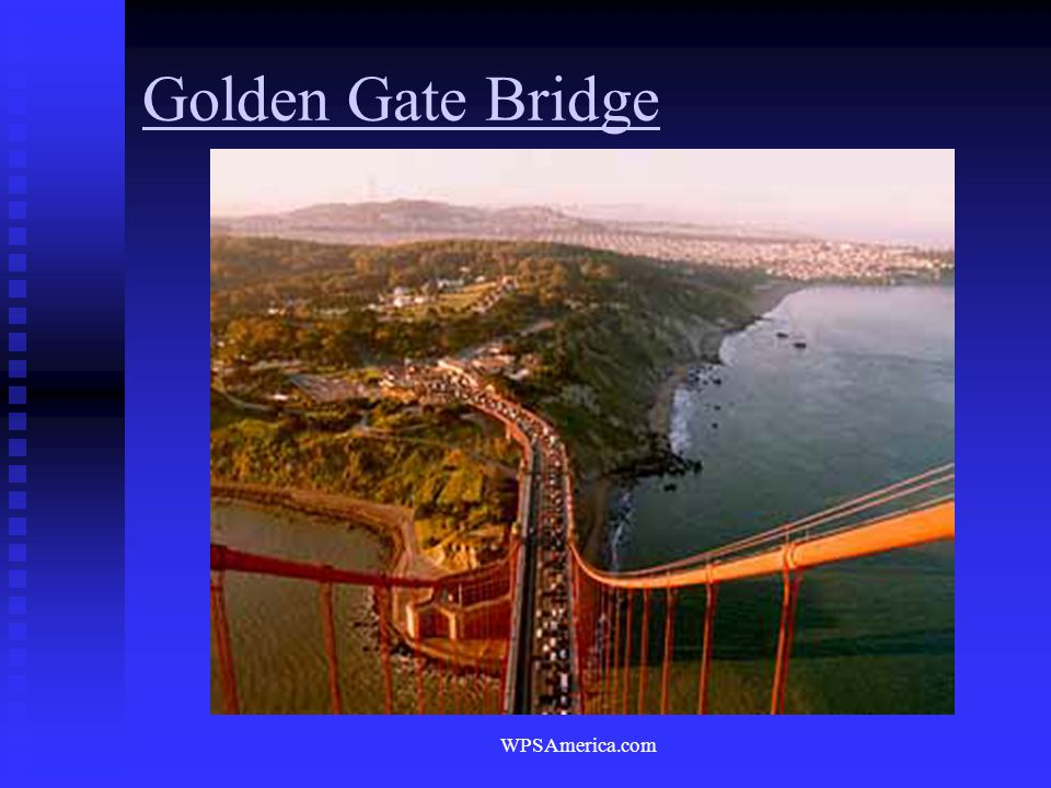 Golden Gate Bridge WPSAmerica.com