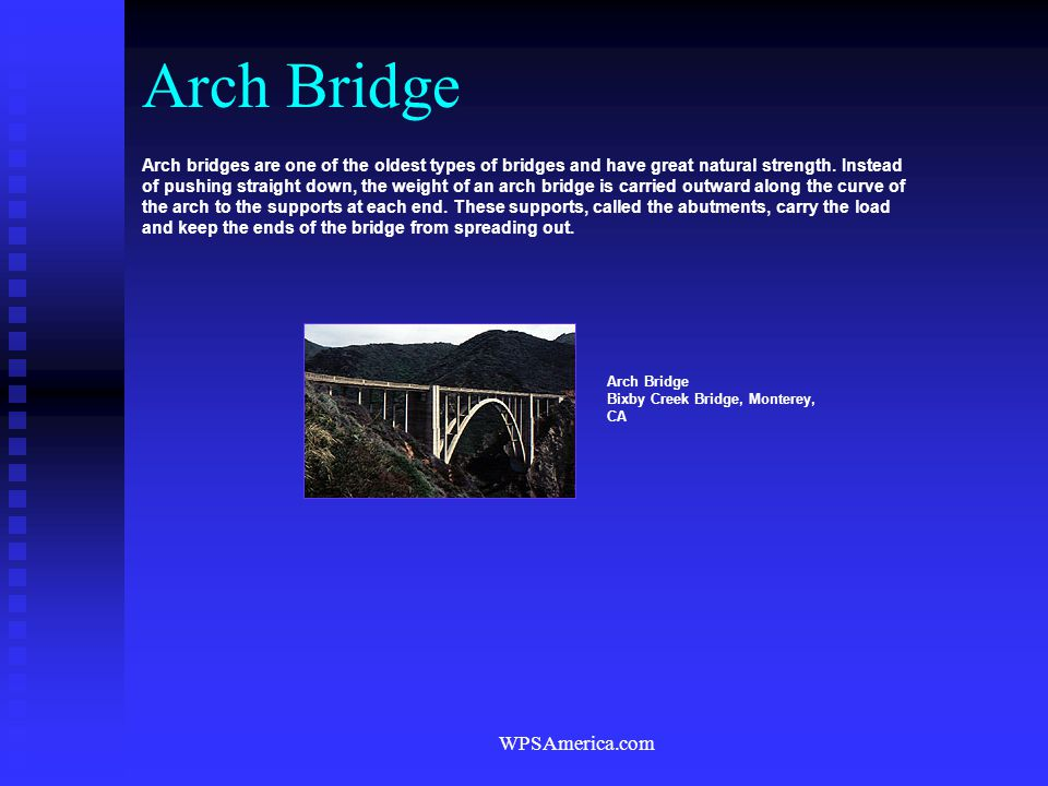 Arch Bridge WPSAmerica.com