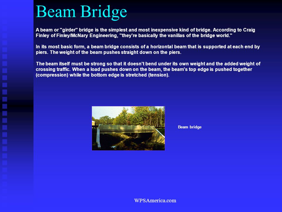Beam Bridge WPSAmerica.com