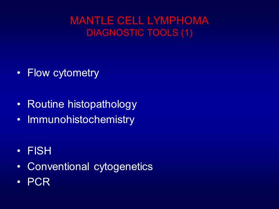 MANTLE CELL LYMPHOMA DIAGNOSTIC TOOLS (1)