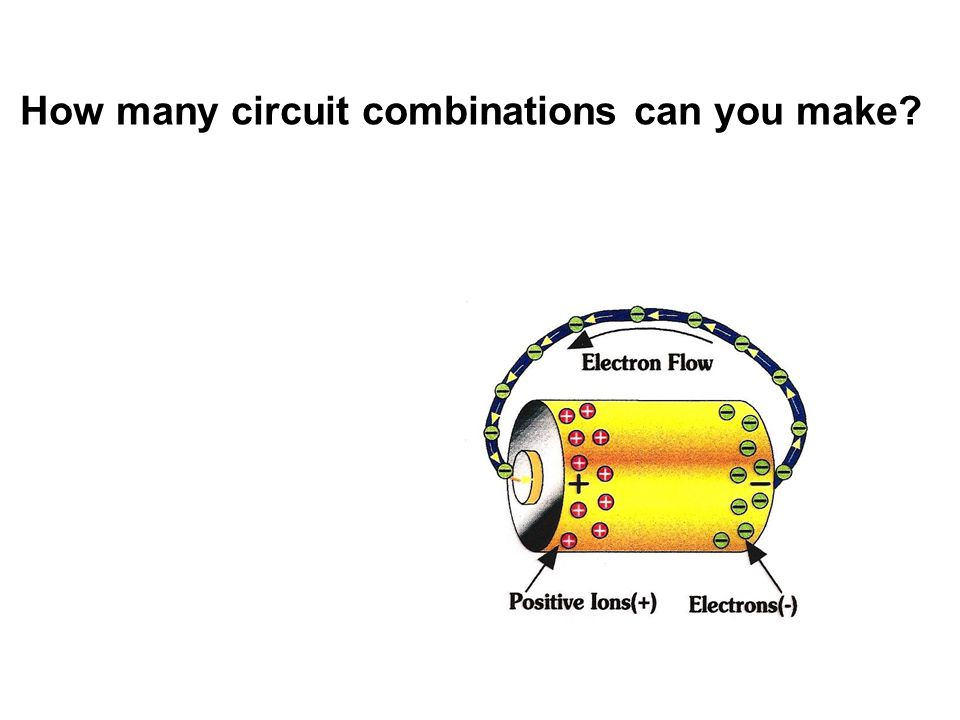 How many circuit combinations can you make