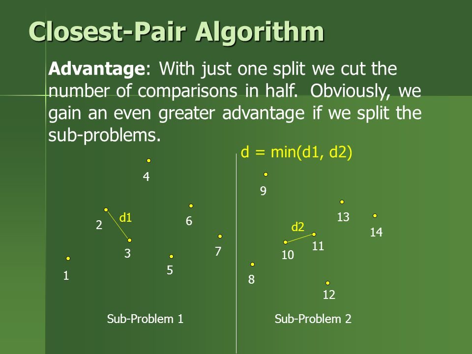 Closest-Pair Algorithm