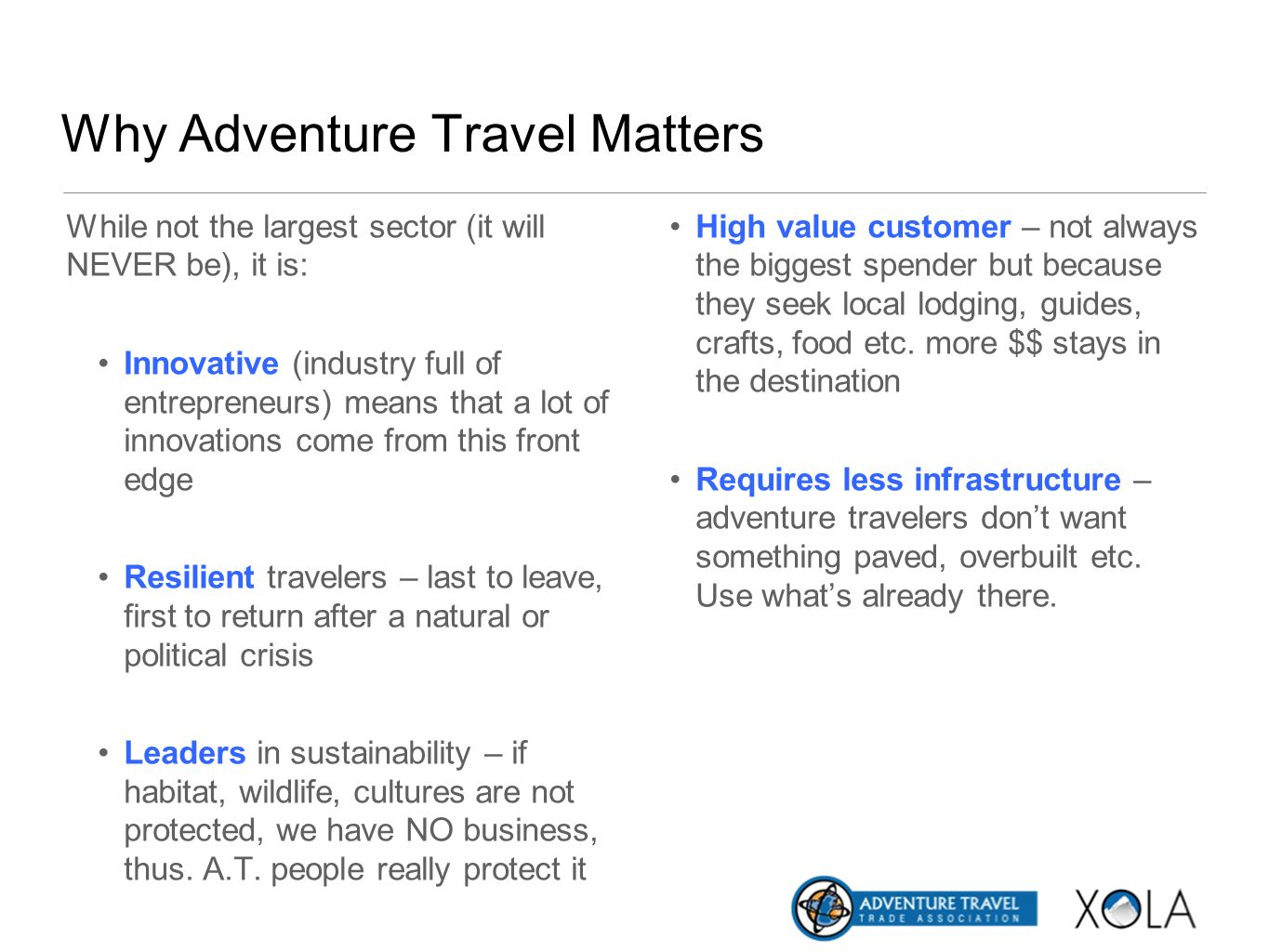 Why Adventure Travel Matters