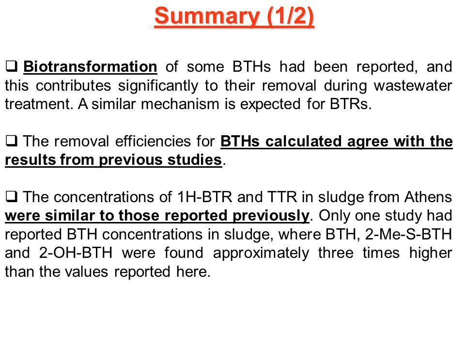 Summary (1/2)