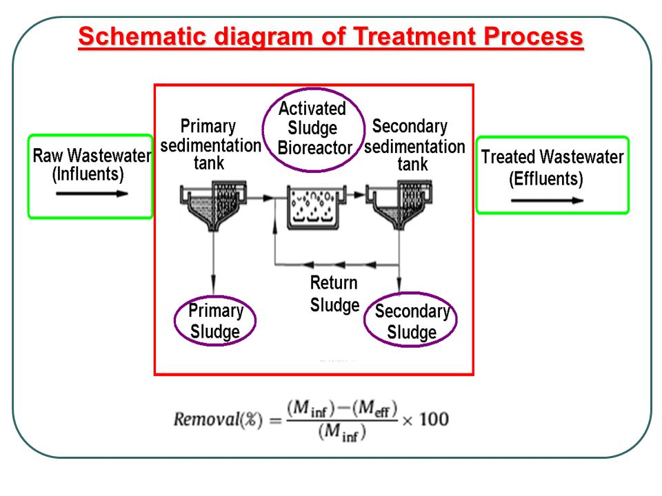 Schematic diagram of Treatment Process