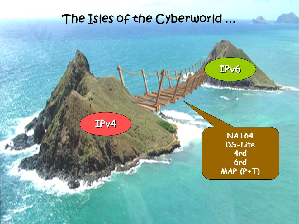 The Isles of the Cyberworld …