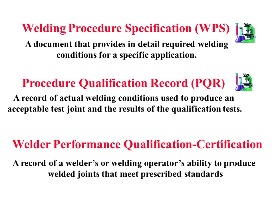 Welding Procedure Specification (WPS)