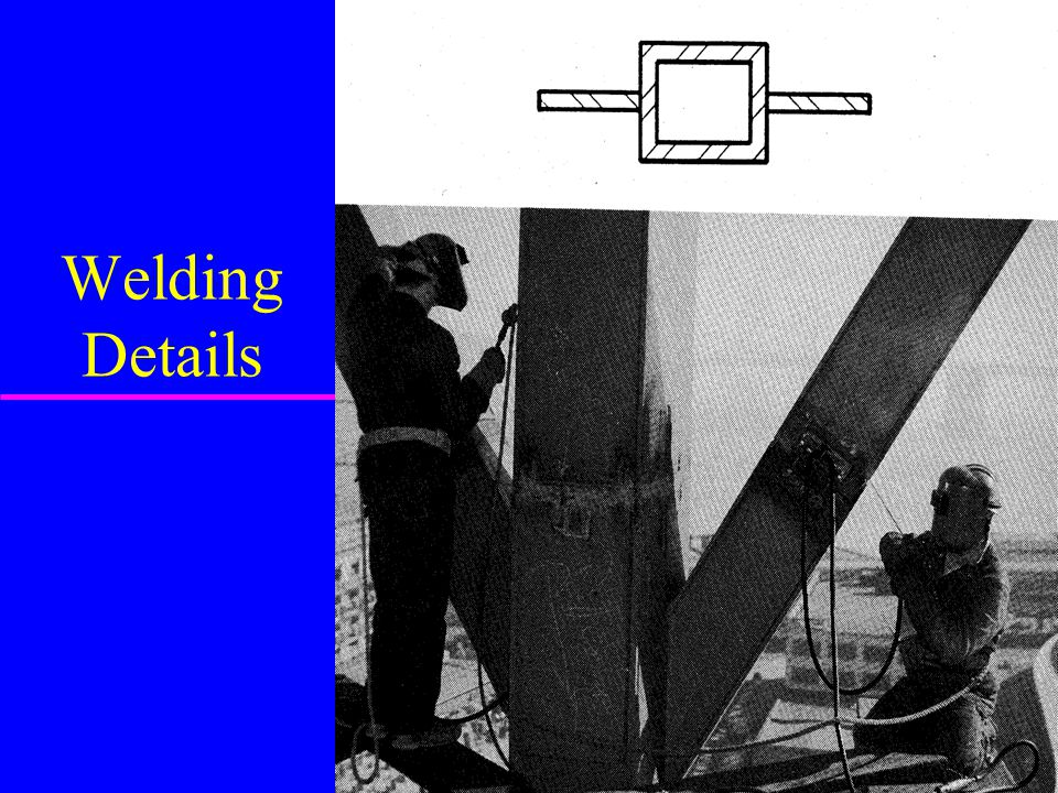 Welding Details
