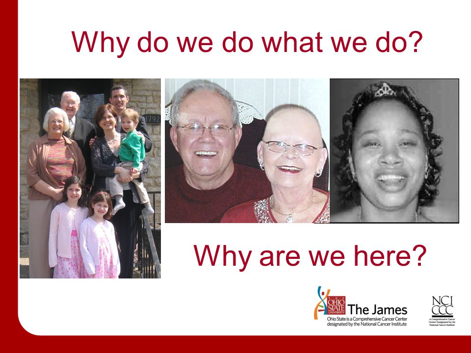 Why do we do what we do Set A1 – Content Slide Why are we here