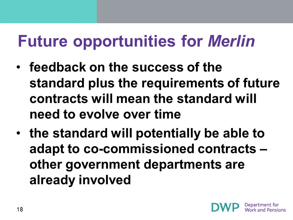 Future opportunities for Merlin