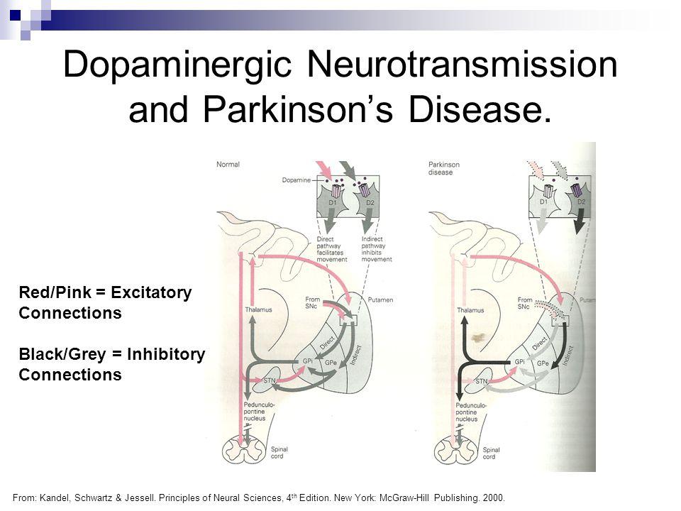 Dopaminergic Neurotransmission and Parkinson's Disease.