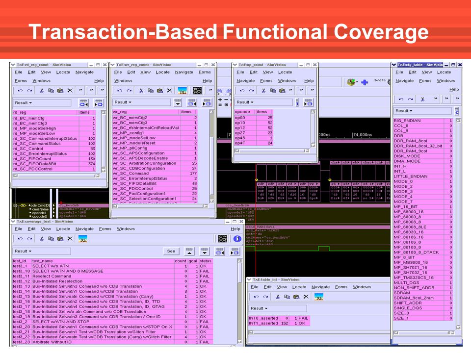 Transaction-Based Functional Coverage