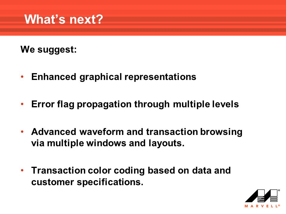 What's next We suggest: Enhanced graphical representations