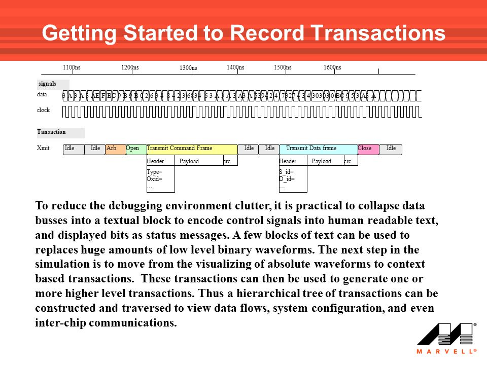 Getting Started to Record Transactions