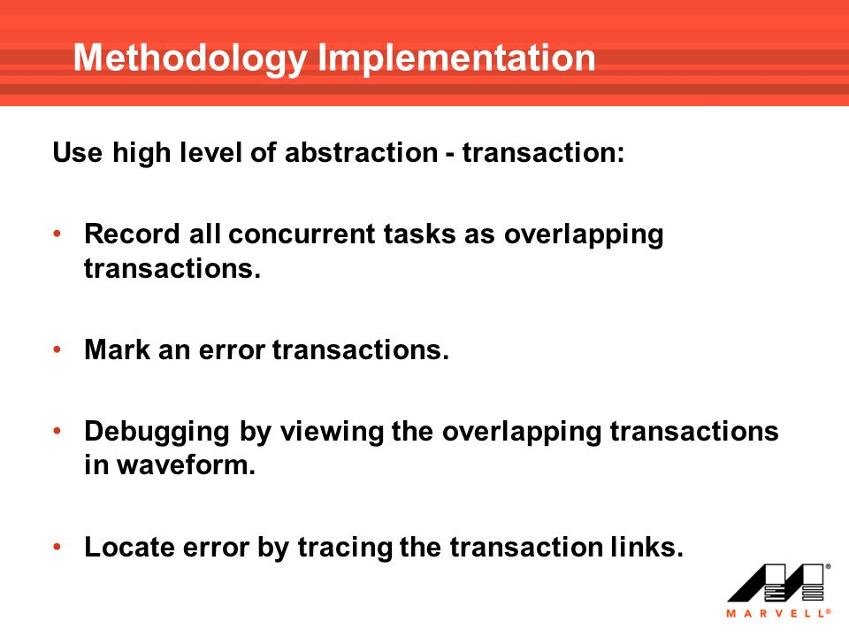 Methodology Implementation