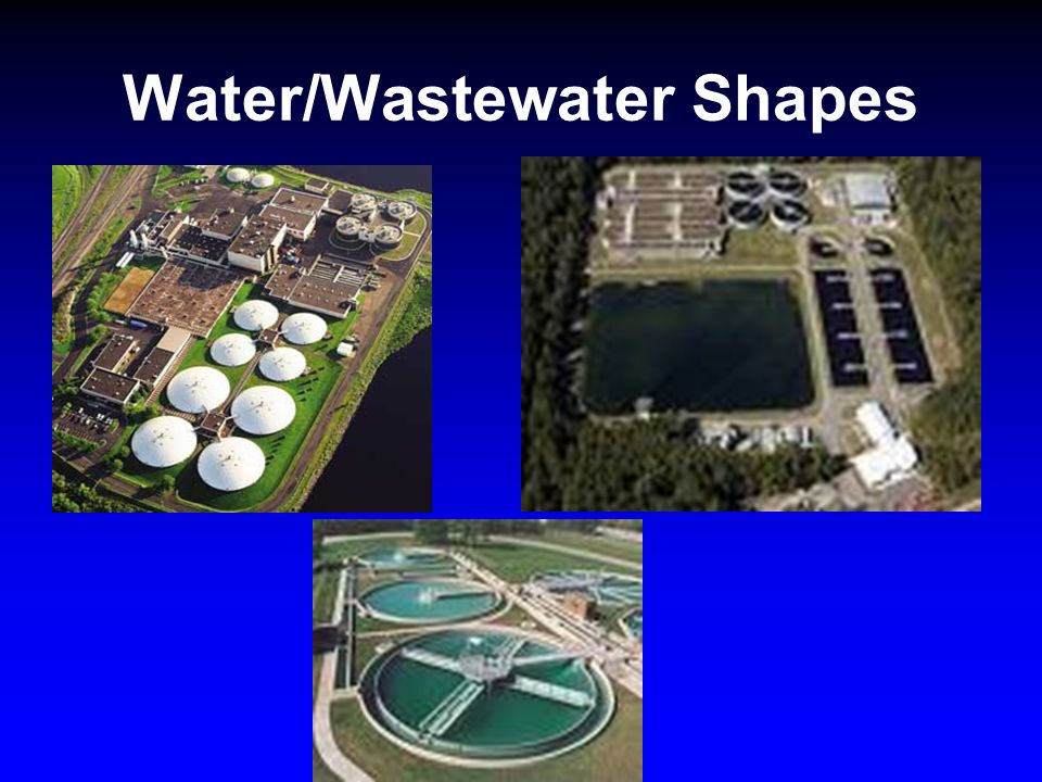 Water/Wastewater Shapes