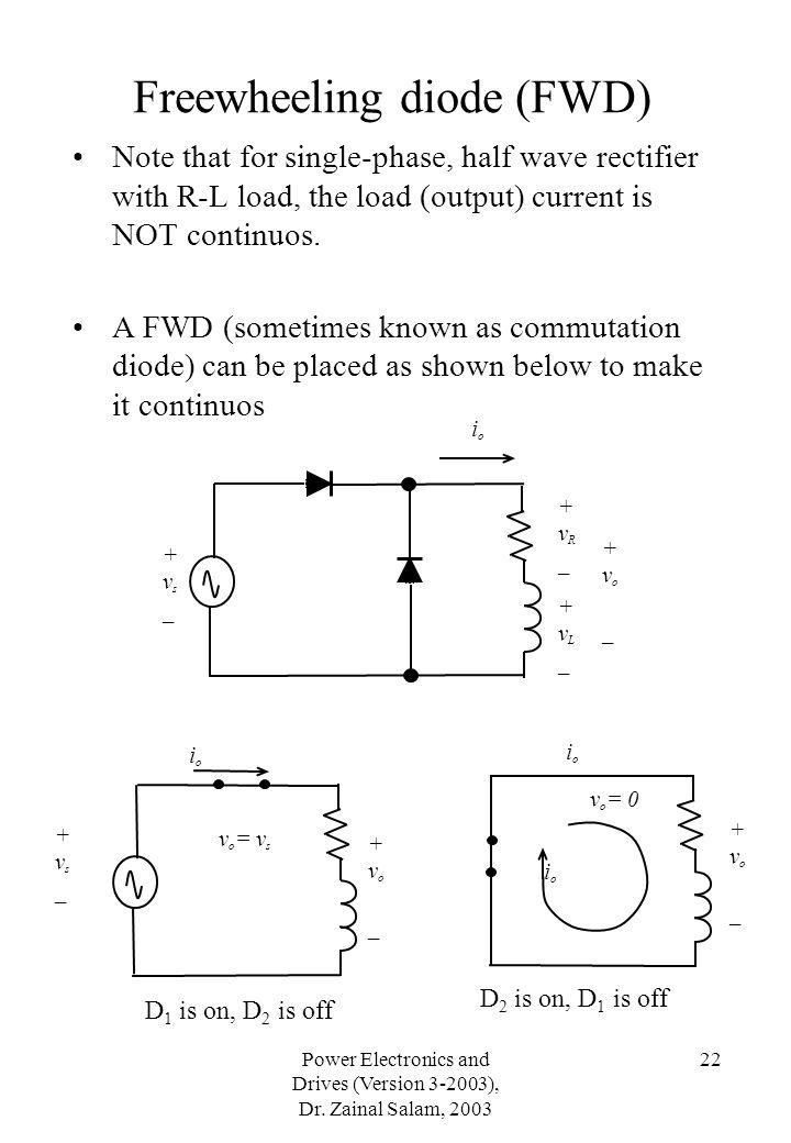 Freewheeling diode (FWD)
