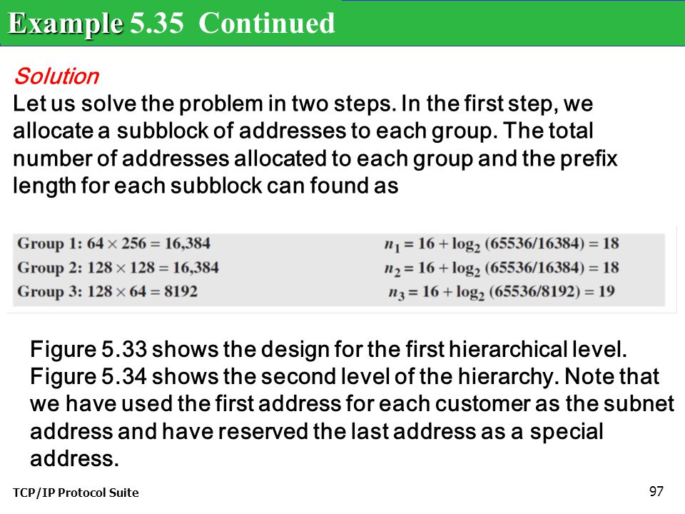 Example 5.35 Continued Solution