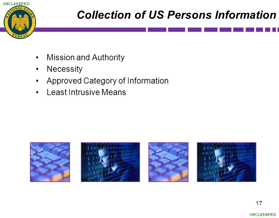 Collection of US Persons Information