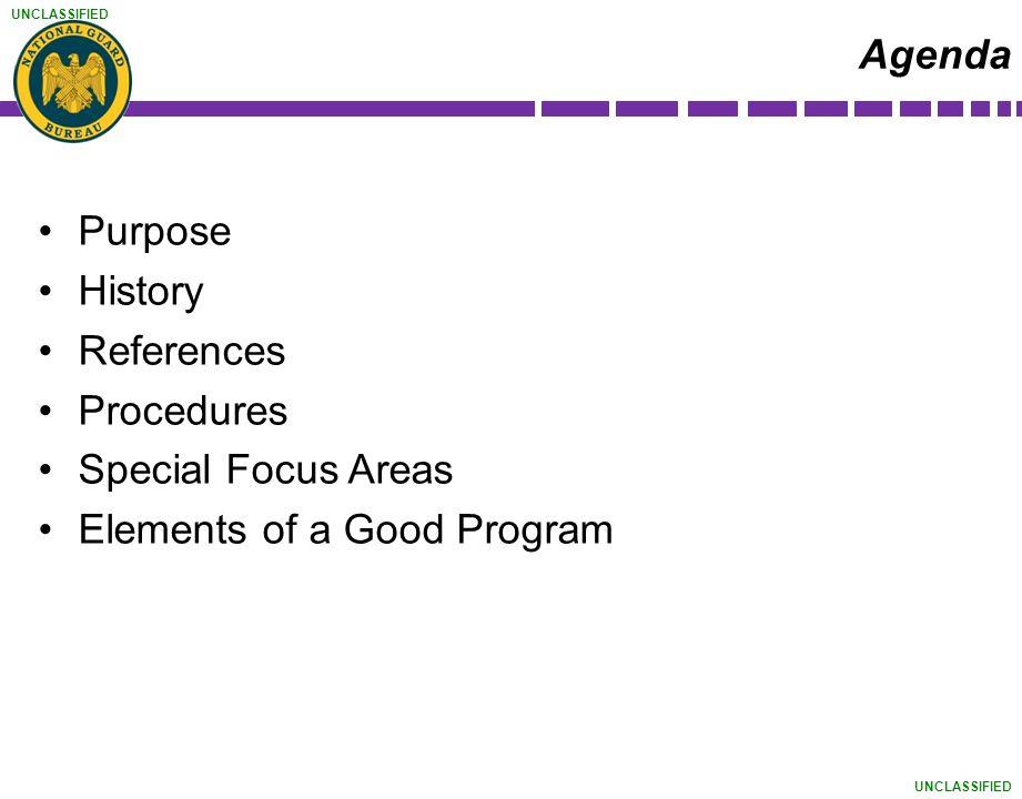 Elements of a Good Program