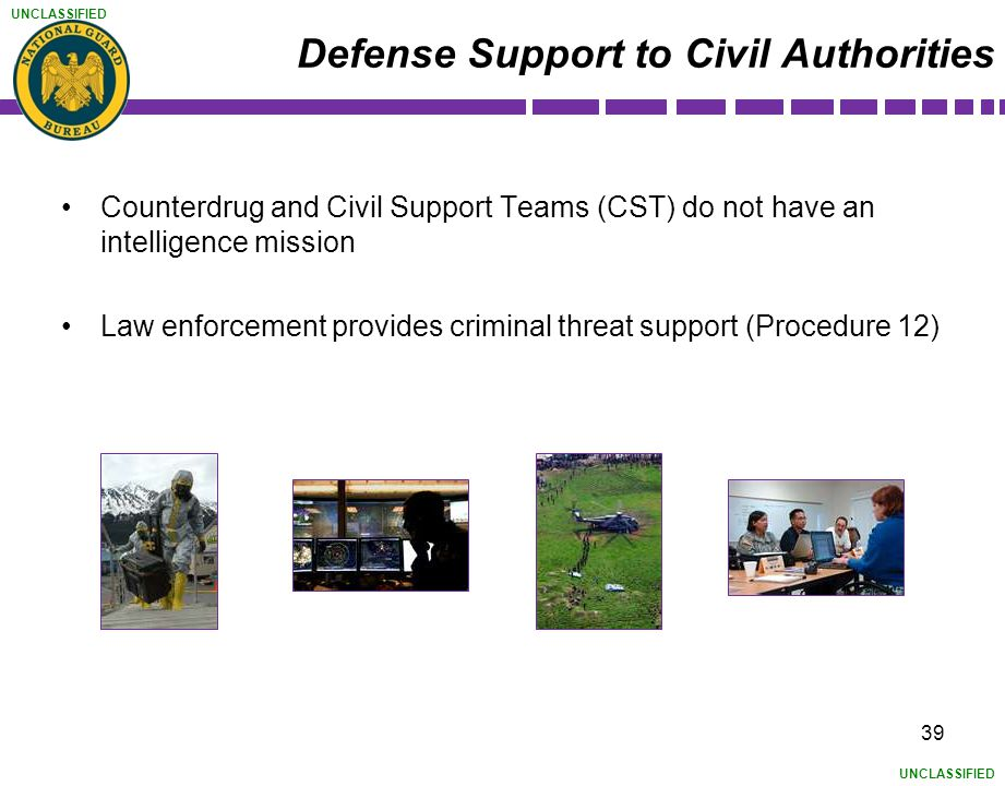 Defense Support to Civil Authorities