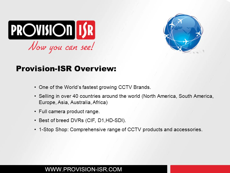Provision-ISR Overview: