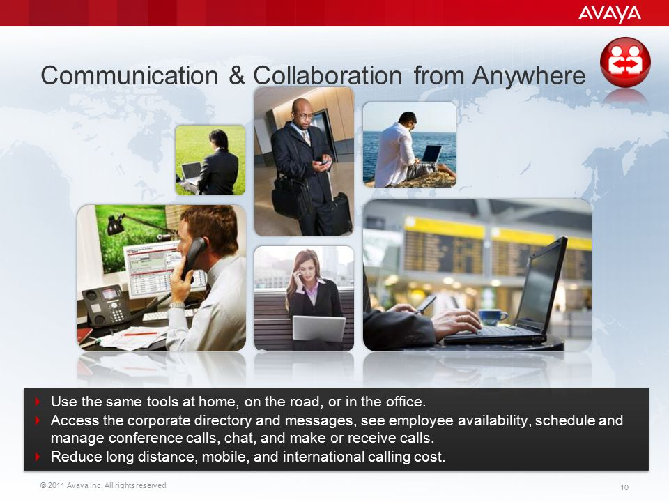 Communication & Collaboration from Anywhere