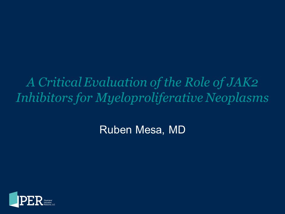A Critical Evaluation of the Role of JAK2 Inhibitors for Myeloproliferative Neoplasms