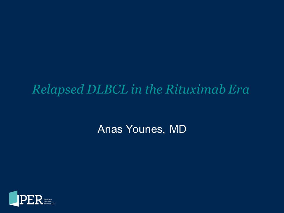 Relapsed DLBCL in the Rituximab Era