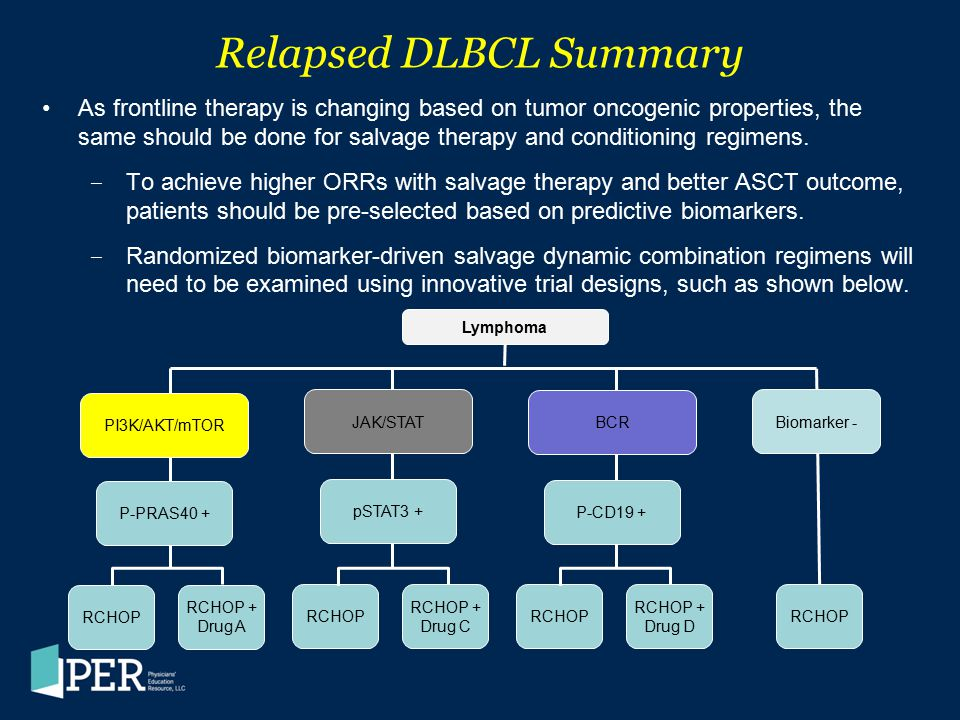 Relapsed DLBCL Summary