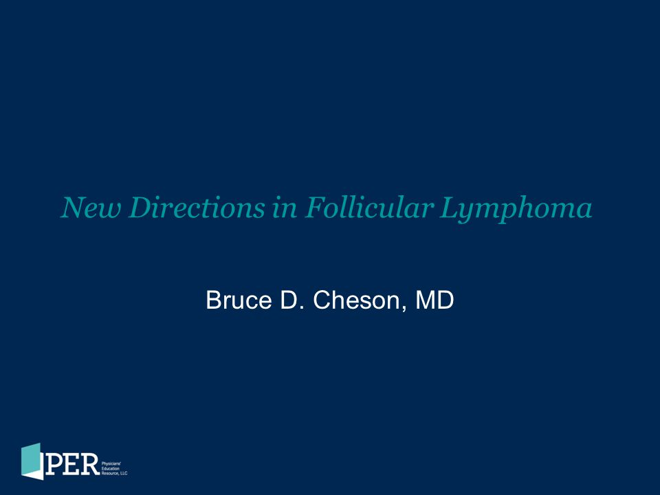 New Directions in Follicular Lymphoma