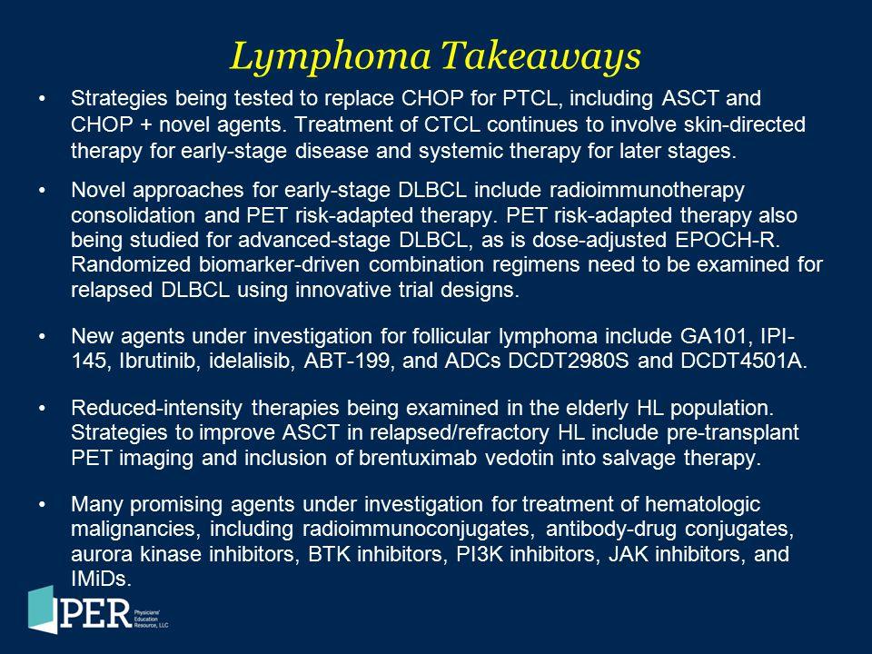 Lymphoma Takeaways