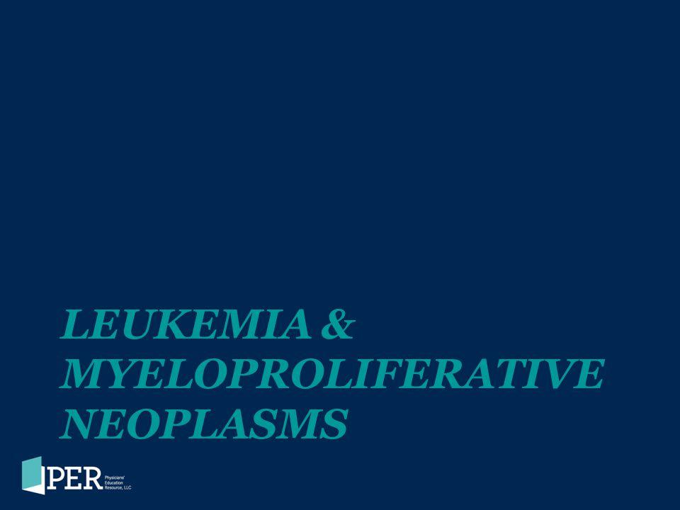 Leukemia & Myeloproliferative neoplasms