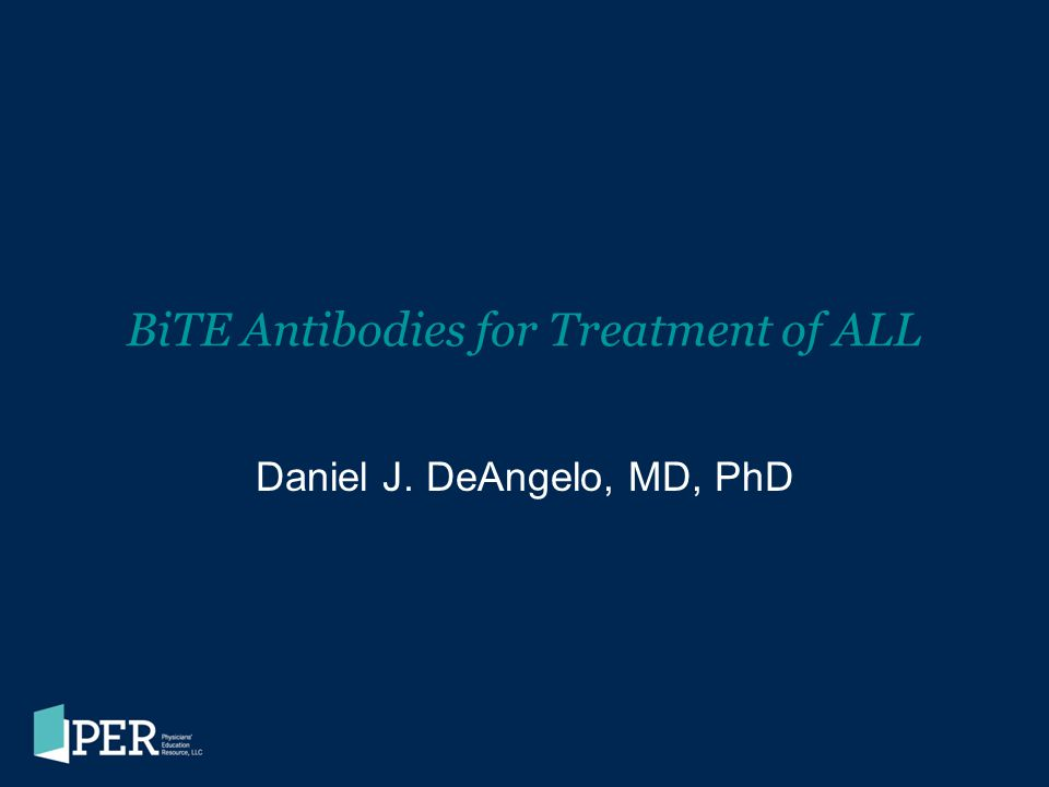 BiTE Antibodies for Treatment of ALL
