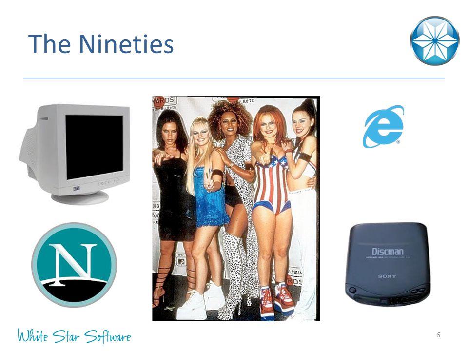 The Nineties IE4 = 1997 IE6 = 2001