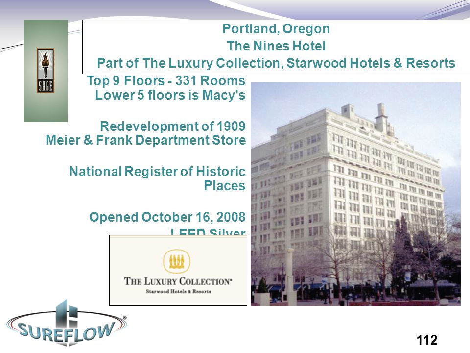 Part of The Luxury Collection, Starwood Hotels & Resorts