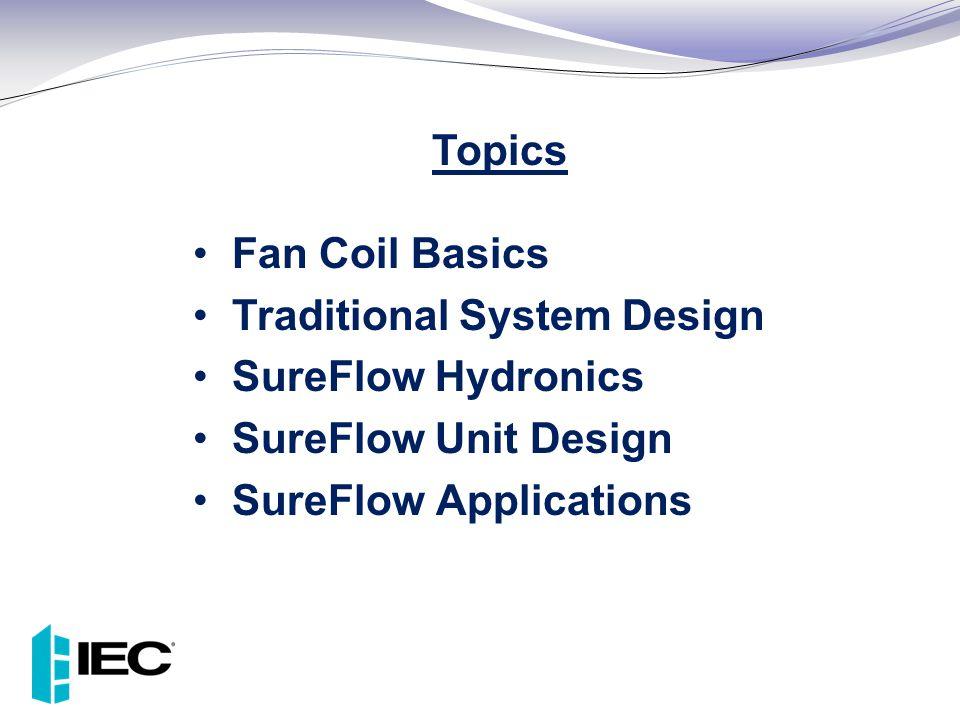 Traditional System Design SureFlow Hydronics SureFlow Unit Design