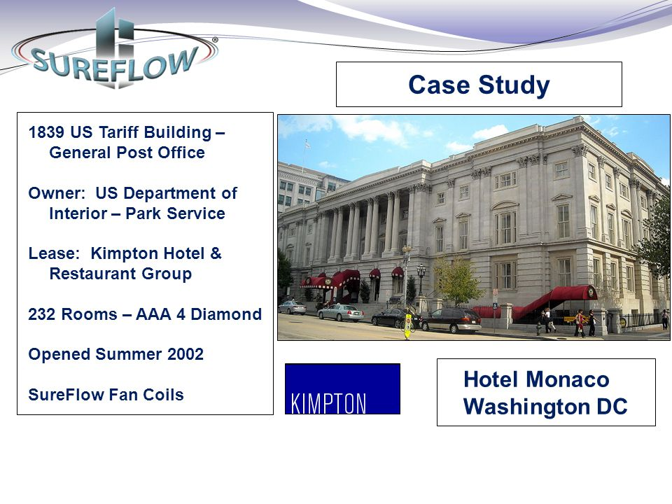 Case Study Hotel Monaco Washington DC