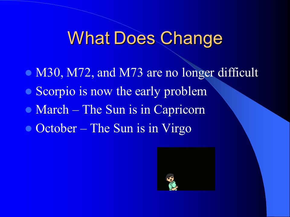 What Does Change M30, M72, and M73 are no longer difficult