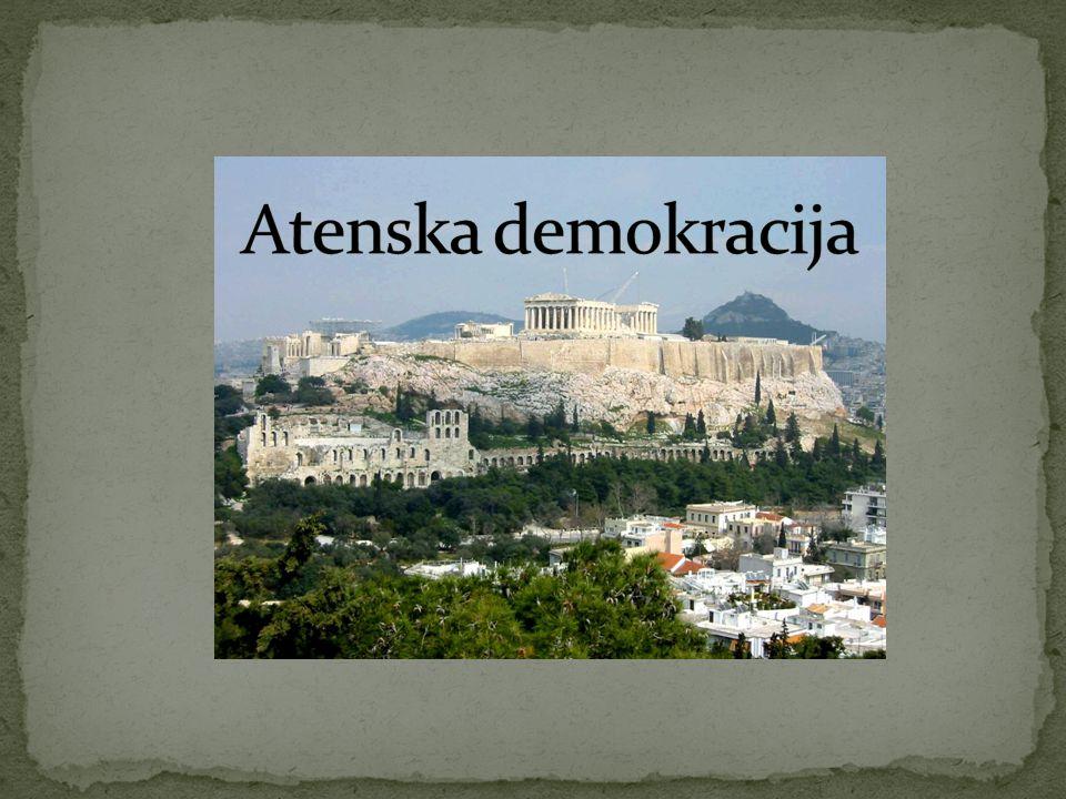 Atenska demokracija