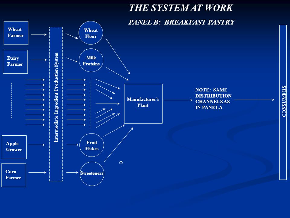 Intermediate Ingredient Production System