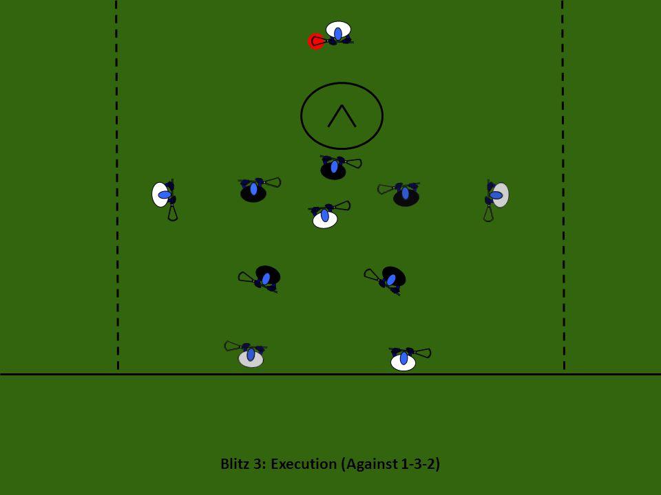 Blitz 3: Execution (Against 1-3-2)