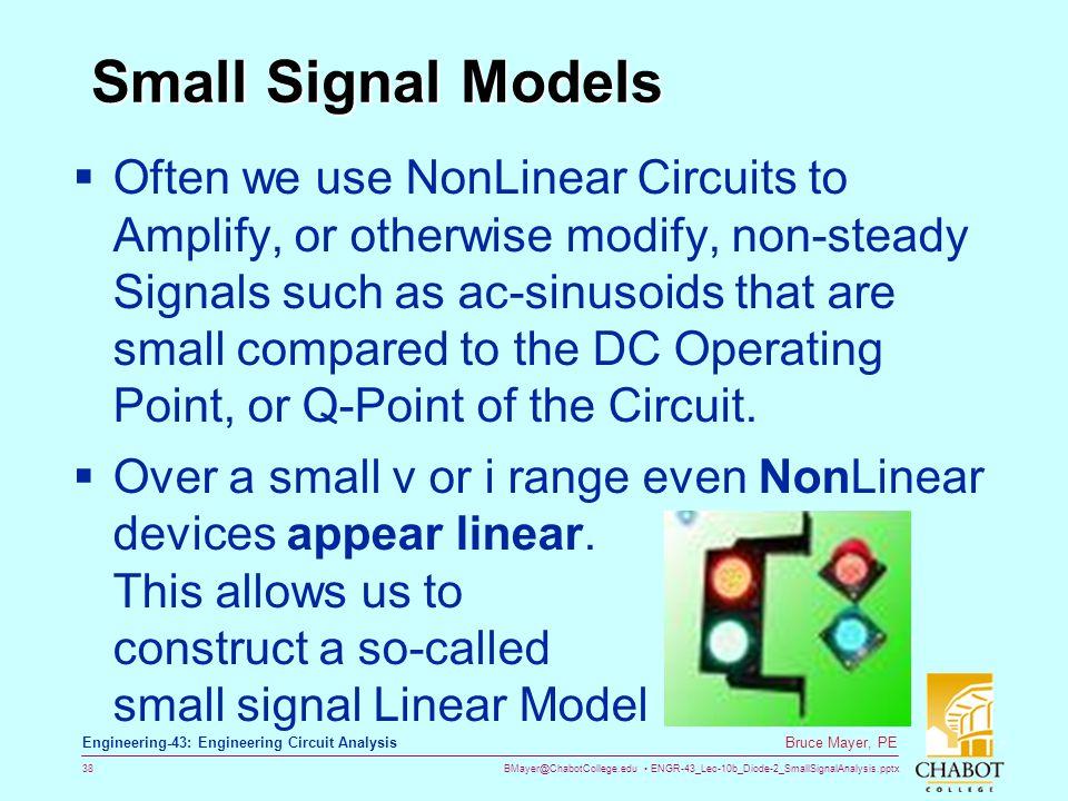 Small Signal Models