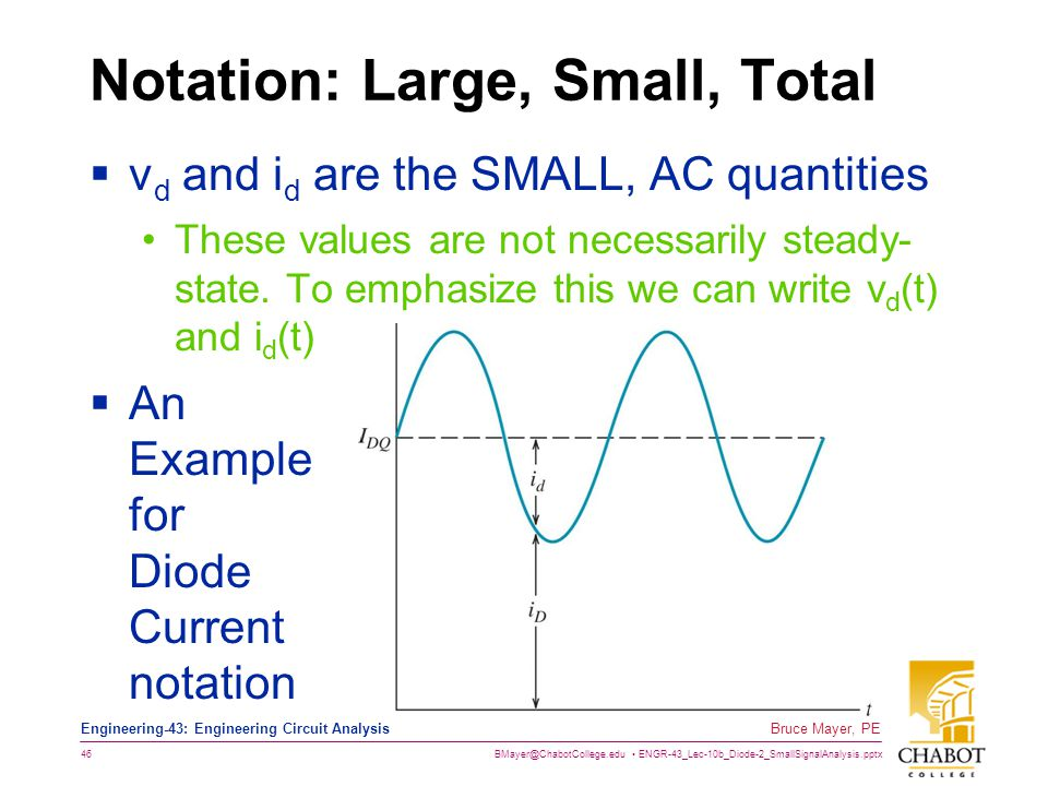 Notation: Large, Small, Total