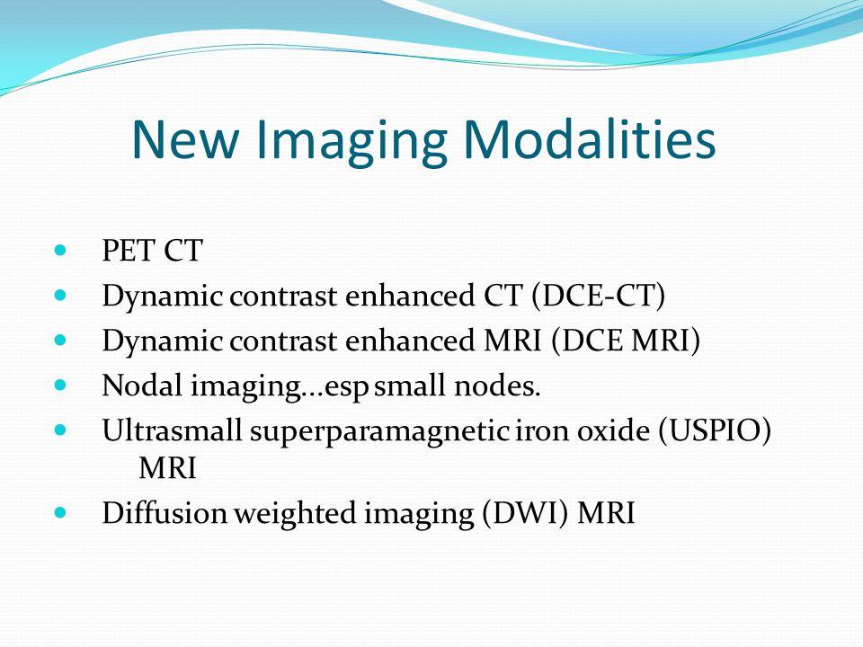 New Imaging Modalities