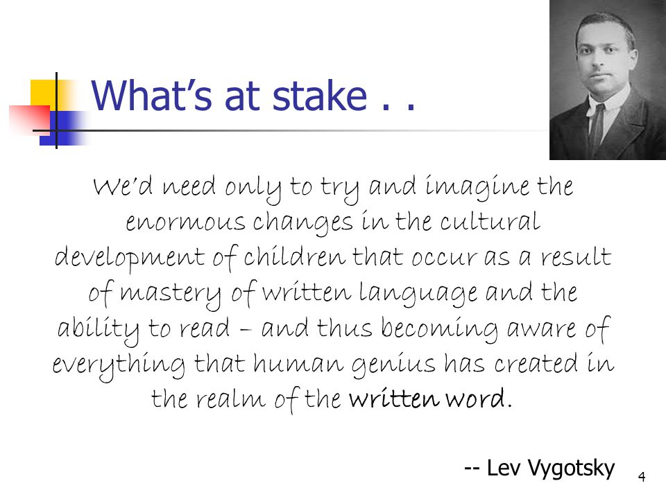 What's at stake . .