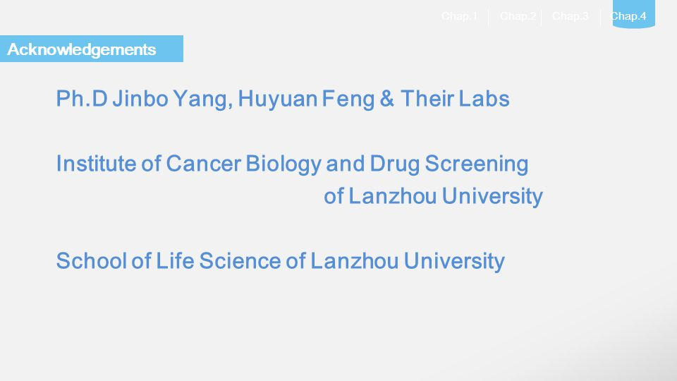 Ph.D Jinbo Yang, Huyuan Feng & Their Labs