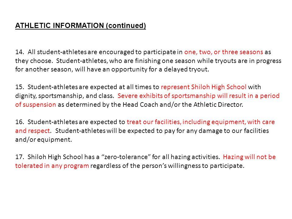 high school athletic director resume