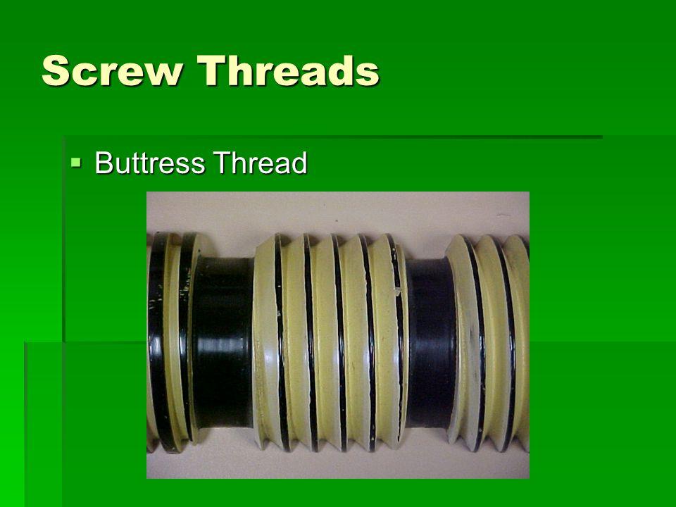 Screw Threads Buttress Thread
