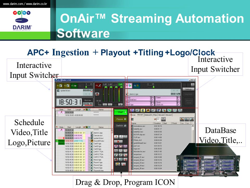 OnAir™ Streaming Automation Software